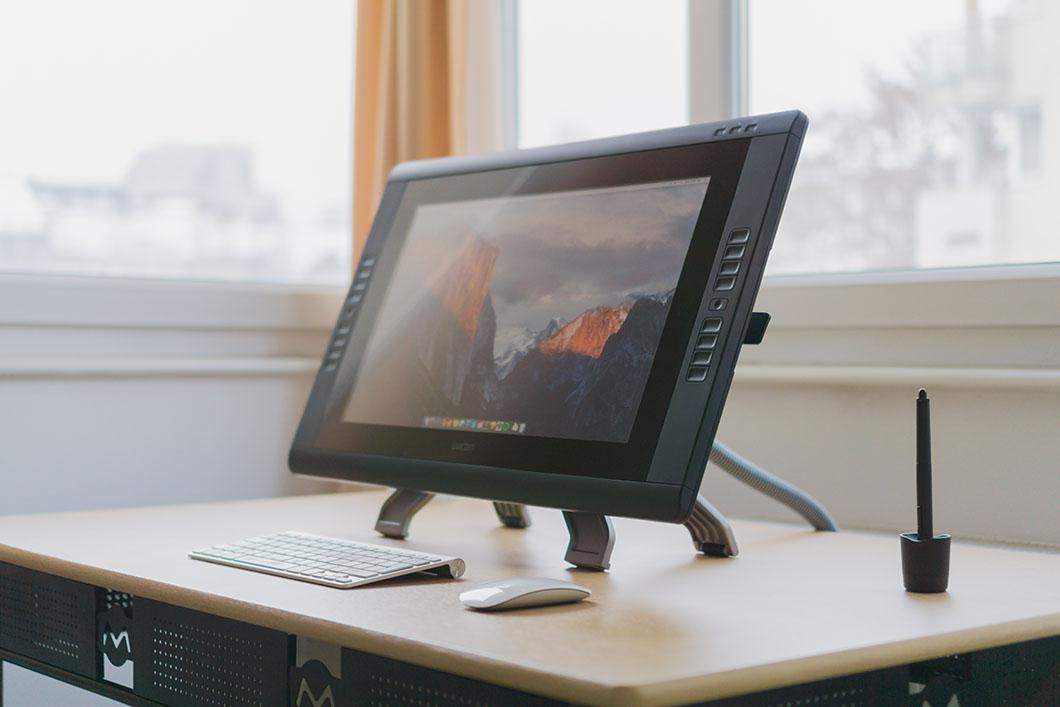 Graphic designer tablet