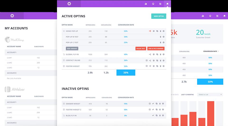 Bloom, a WordPress subscription plugin, features wonderful visuals.