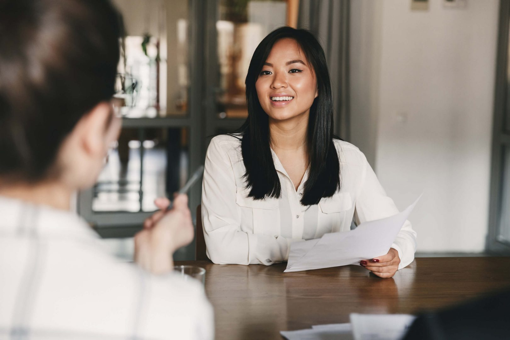 If you think ahead and draft out your answers to most frequently asked questions, the job interview won't be as stressful.