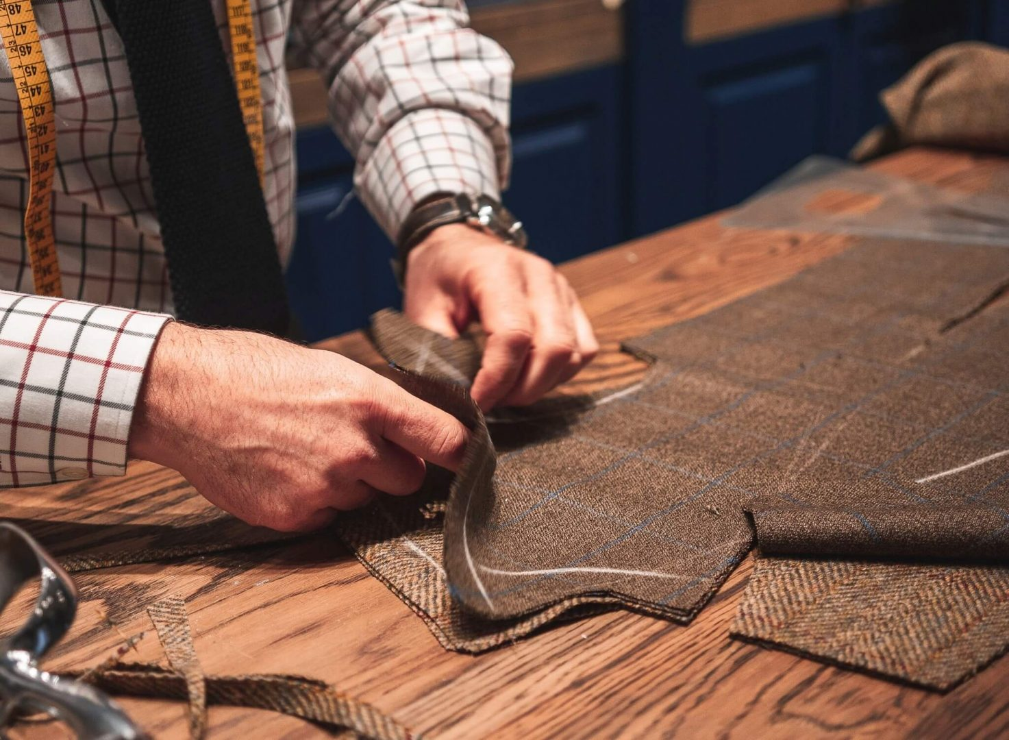 Much like sewing a suit, creating a custom theme is a process of hand-picking tailored elements and uniting them in a breathtaking website.
