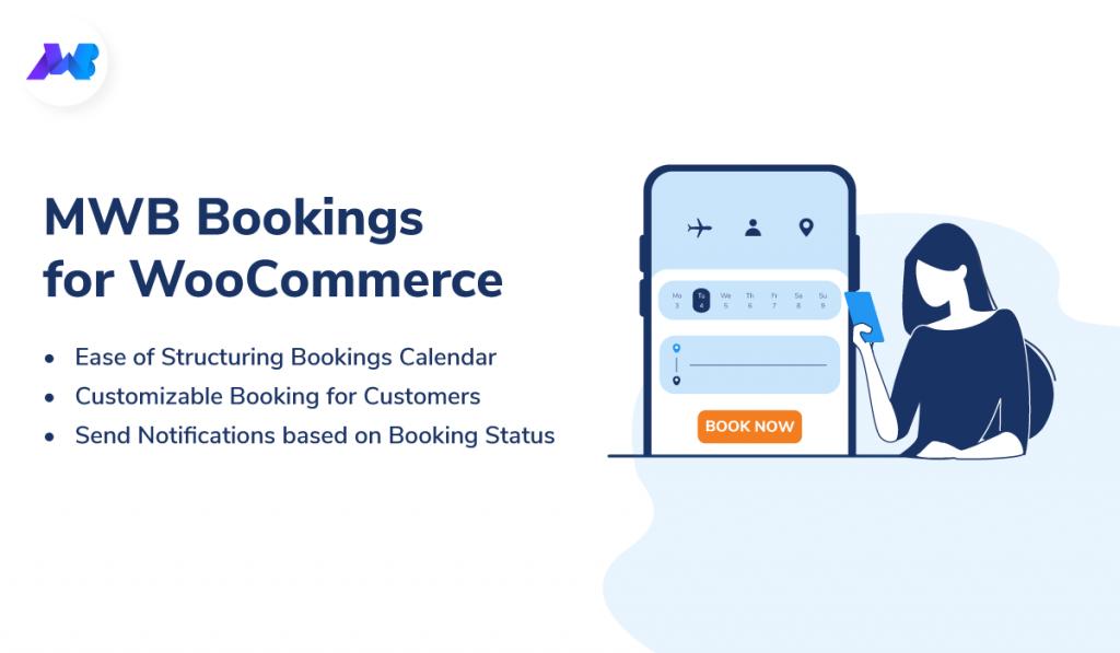 Bookings for WooCommerce Plugin