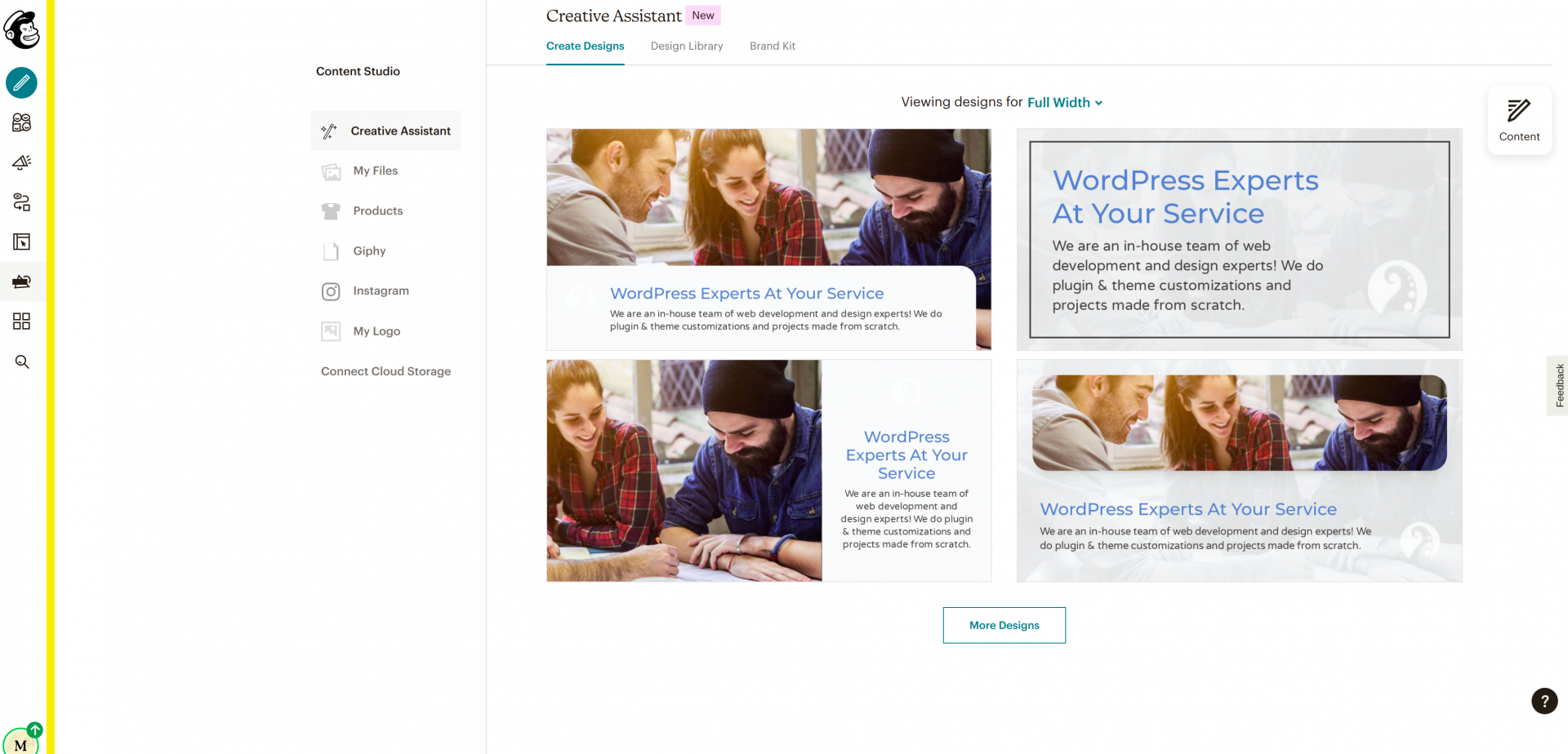 MailChimp is a WordPress subscription plugin that offers a generous free option.